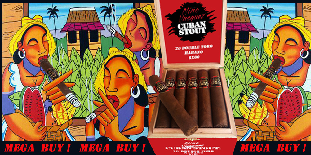 Cuban Stout Cigars..by Nino Vasquez...Mega Buy !: Factory Direct Cigars