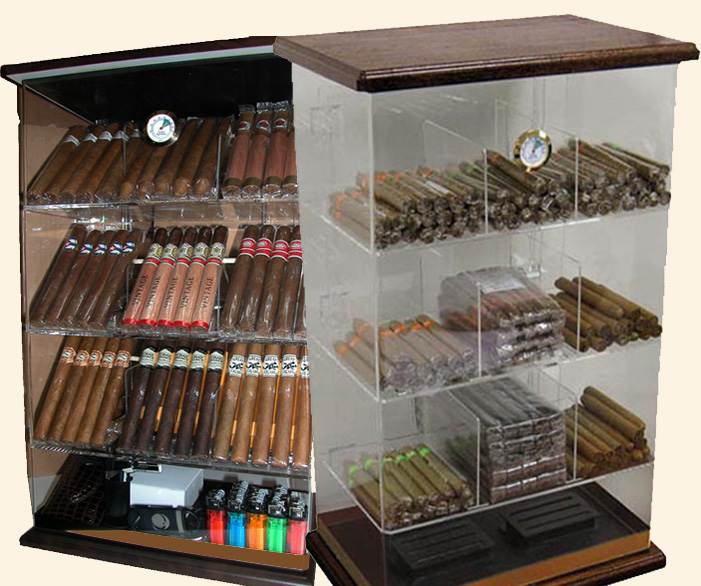The Franklin..Wood Base.. Humidor...250 Ct.