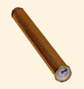 Cigar Tube Humidor-Gold Finish