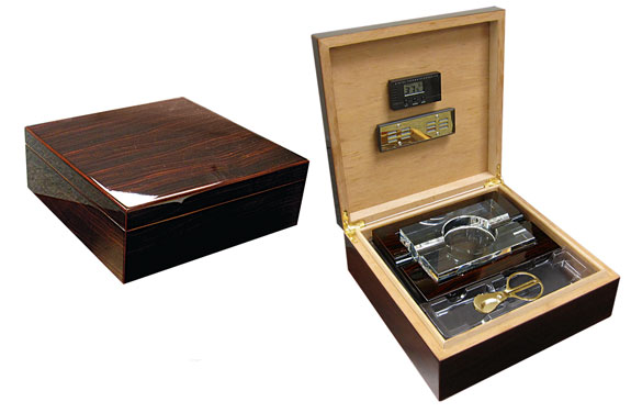 The Chamberlain Humidor w/Ashtray...75 Ct.