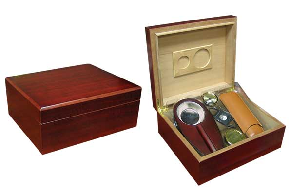The Diplomat Humidor Combination Set...  ....40 Ct.