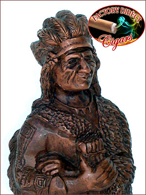Cigar Store Indian - Red Cloud-Sioux Nation Chief