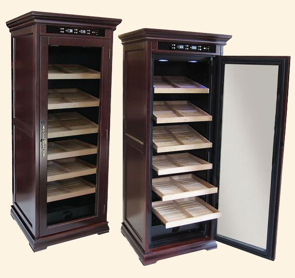 The Remington Humidor...2000 Ct. - Electronically Controlled