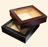 The Chateau Glasstop Humidor...20 Ct.