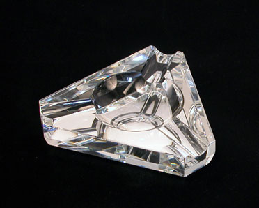Triangle Crystal Ashtray