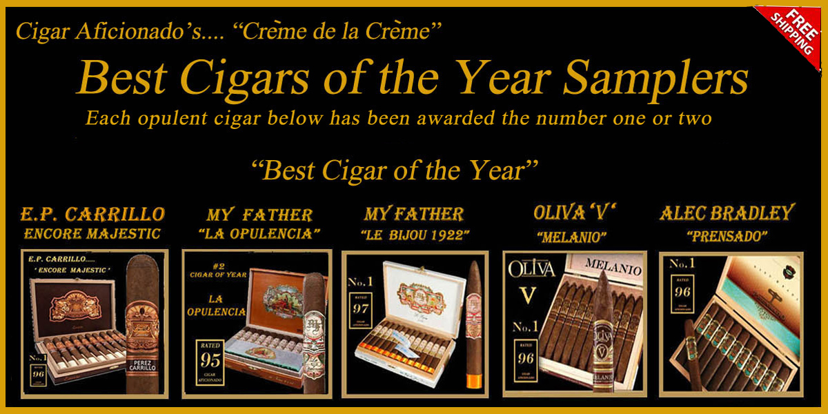 Cigar Aficionado's Best Cigars Of The Year !