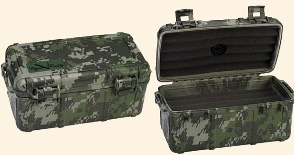 Cigar Caddy 15 Ct. Camouflange