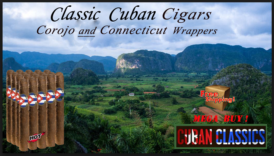 Classic Cuban Cigar Special...Corojo & Connecticut