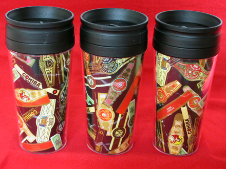 Coffee Mug w/Cigar Label Collage
