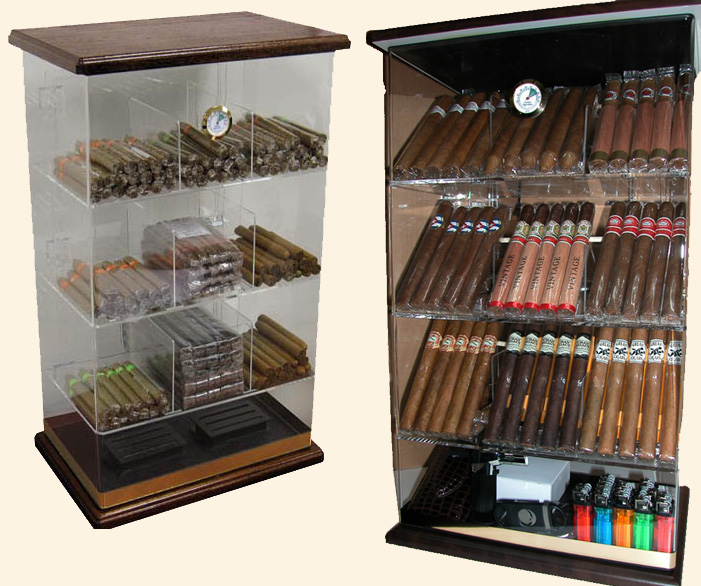 The Roosevelt..Wood Base..Humidor...250 Ct.