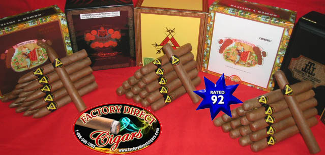 Factory Direct Cigars To You.. Free Shipping !