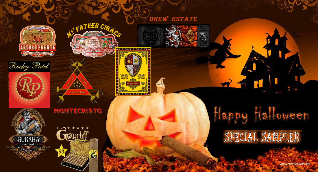 Halloween.. Treats.. Cigar Samplers