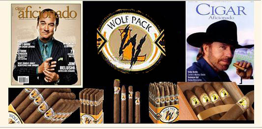 Lone Wolf ..Wolf Pack..Premium Cigars..Free Shipping!