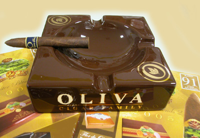 Oliva Ashtray..Factory Backorder