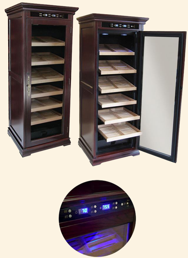 The Remington Humidor...2000 Ct. - Electronically Controlled.. . Free Shipping !
