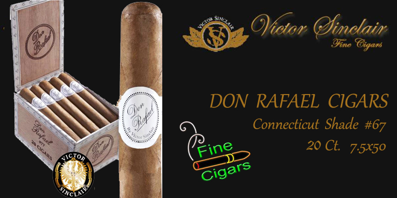 Don Rafael #67 .. 20 Ct. Connecticut Shade