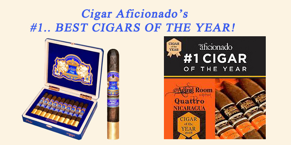 #1..'Best Cigar of the Year'...Cigar Aficionado