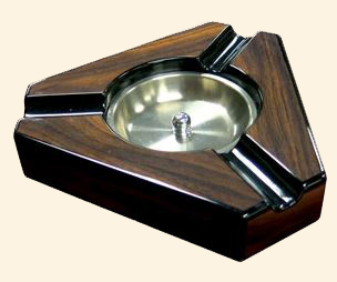 Ashtray-Three Place Triangular