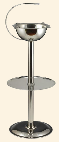 Standing Ashtray-Stainless Steel