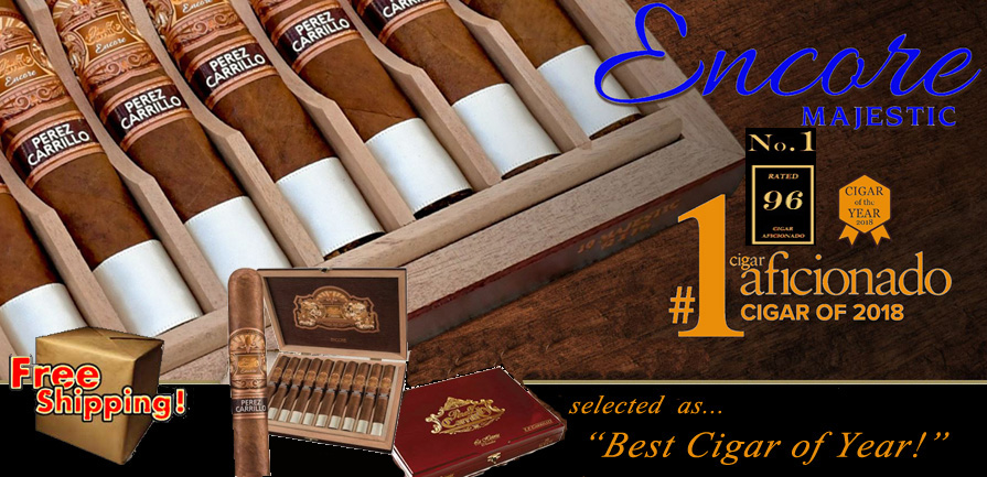 Encore Majestic  Best Cigar of the Year!