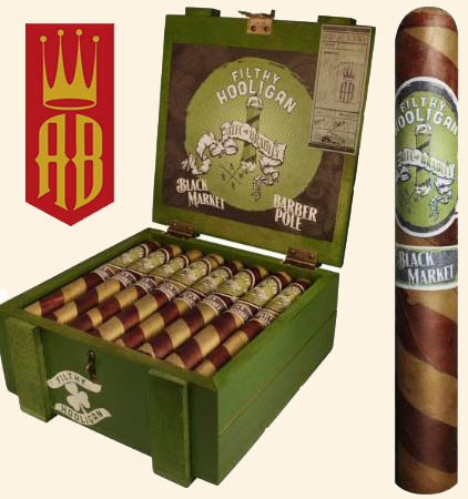 Black Market Filthy Hooligan Barber Pole Cigars