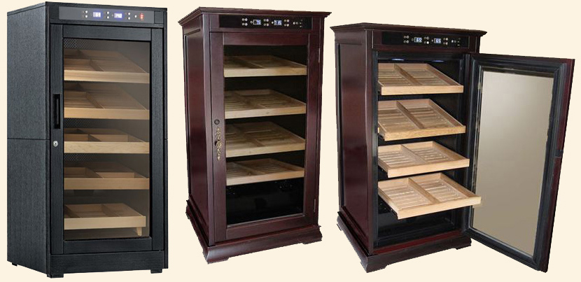 The Redford Humidor..1250 Ct. - Electronically Controlled
