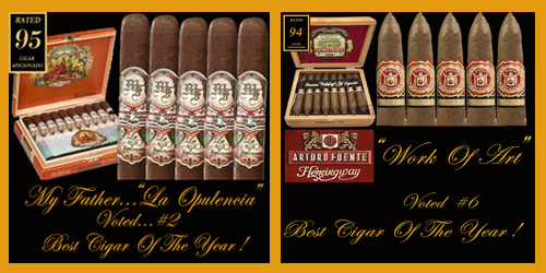 Voted Two of the Best Cigars Of 2018...Free Shipping!