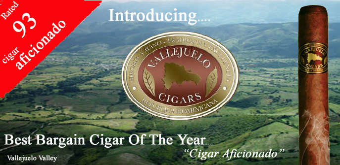 Vallejuelo Cigars..w/ Free Shipping !